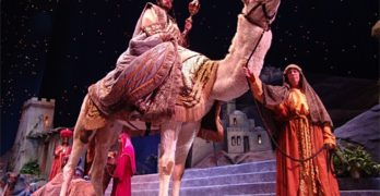 Crystal Cathedral's 'Glory of Christmas' Delivers Baby Jesus, Flying Angels and Camel Poop