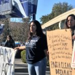 Immigrant Youth Block Disneyland Entrance During Dream Act Protest