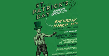 St. Patrick's Day at Garden Grove Amphitheater