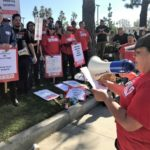 Sodexo Workers at Fountain Valley Regional Hospital Strike For Better Pay