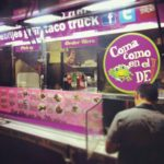 Find OC's Best Collection of Taco Trucks on Main Street in SanTana