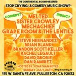 Stop Crying— A Comedy Music Show?