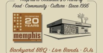 Memphis 20th Year Anniversary Party