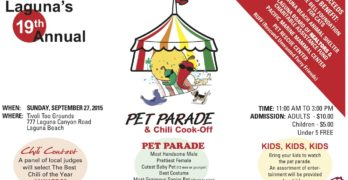 19th Annual Pet Parade N Chili Cook Off