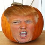 """""""I Am the Most Fabulous of All Halloween Pumpkins:"""" Boys and Ghouls, The Trumpkin!"""