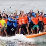 Surfboard Tied to Two New Guinness World Records on Display at U.S. Open of Surfing
