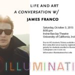 James Franco Is Visiting UCI–and You Can't Go