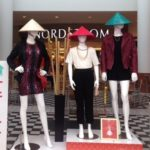 Forever 21 at MainPlace Mall Rides the Rice Paddy Hat-Wearing Mannequin Trend
