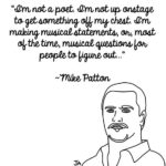 Mike Patton Explains Himself, In Illustrated Form