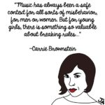 Carrie Brownstein Talks About Her First Love: Music