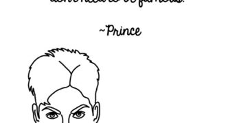 Prince Gets Sassy, In Illustrated Form