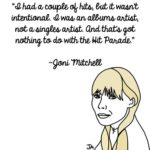 Joni Mitchell Speaks Her Mind, In Illustrated Form