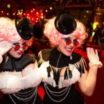 Inside the Edwardian Ball's Steampunk Circus