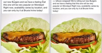 In-N-Out Calls Out Bruxie On New 'Protein Style' Sandwiches