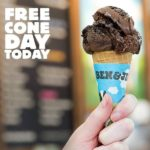 Free Cone Day at Ben & Jerry's Tonight (Tuesday, April 14, 2015)