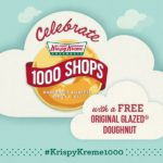 Krispy Kreme Is Giving Away Some More Free Donuts Today