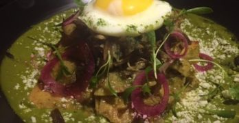 3. Chilaquiles at Anepalco
