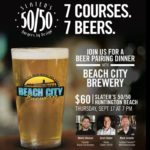 Have a Fancy Beer Dinner With Slaters 50/50 and Beach City Brewery Next Week