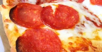 73. Sicilian Style Pepperoni Pizza at Perry's Pizza N Italian Restaurant