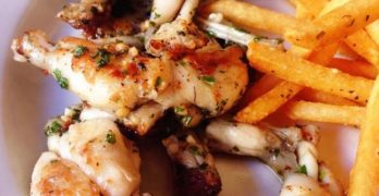 40. Frog Legs From Cafe Beau Soleil