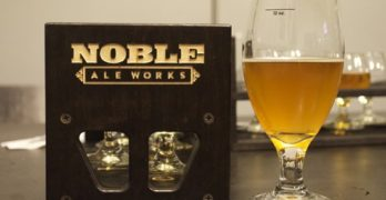 Sorachi Ace Showers Double IPA at Noble Ale Works, Our Drink of the Week!