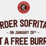 Chipotle to Offer FREE Burritos and Tacos–Here's How to Get Them!