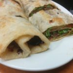 34. Green Onion Pancake Beef Roll at 101 Noodle Express