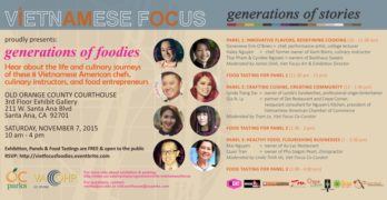 Learn Your Viet Foodways at the Vietnamese American Oral History Project's Foodies Lecture (You Can Eat Too)
