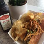Top Chef's Brian Huskey Cooks Up Great Sandwiches at Tackle Box in Corona Del Mar