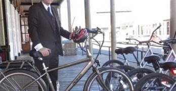Surf City Politician and Irvine Company Help Open Paths for Electric Bikes