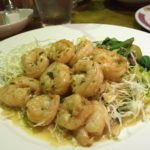 Eat This Now: Garlic Shrimp Plate at Cafe Hiro