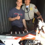 Moto-X Rider Gets Back His Motorcycle Stolen During Angel Stadium Races