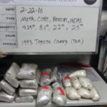 Party at the San Clemente Border Check as Meth, Coke, Smack and MDMA is Seized