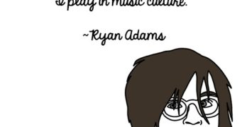 Ryan Adams Gets Candid, In Illustrated Form