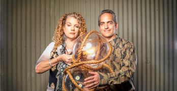 Paul and Casey DePersis Make Amazing Chandeliers as a Light Couple