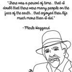 Remembering Merle Haggard, In Illustrated Form