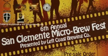 San Clemente Micro-Brew Fest at Left Coast Brewing Co. THIS SATURDAY!!!