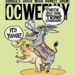 Why OC Weekly's Cover This Week Features a Donkey Drumpf-ing Trump