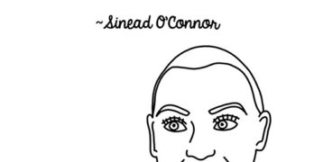 Sinead O'Connor Sounds Off, In Illustrated Form