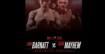 """MMA Fighter Jason """"Mayhem"""" Miller Promises Victory In May 21 Italy Bout"""