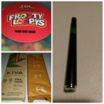 Frooty Loopys, KIVA Bar and Disposable Vape Pen, Our Tokes of the Week!