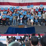 Bernie Sanders' Irvine Rally Was Like a Very Tame Woodstock