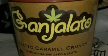 Ganjalato Salted Caramel Ice Cream: Our Toke of the Week!