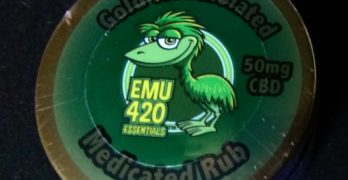 EMU 420 Essentials Medicated Rub: Our Toke of the Week!