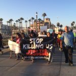 Peaceful Anti-Police Brutality Vigil in Huntington Beach Pisses Off A Bunch of HBers