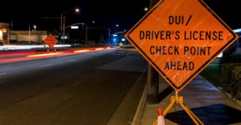 Deputies Run DUI Checkpoint in Aliso Viejo Tonight