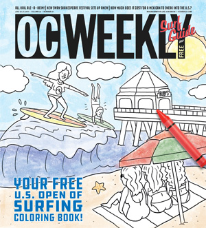 Your Free U.S. Open of Surfing Coloring Book!