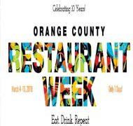 OC Restaurant Week: March 4 – 10, 2018