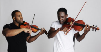 Black Violin Bring Classical Boom to Orange