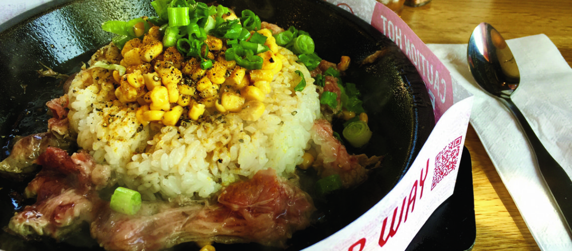 Japanese Chain Pepper Lunch Brings Its Meals on Superheated Cast-Iron Plates to Irvine